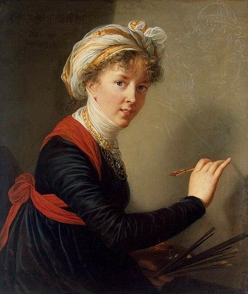 File:Elisabeth Vigée-Lebrun - Self-Portrait - WGA25084.jpg