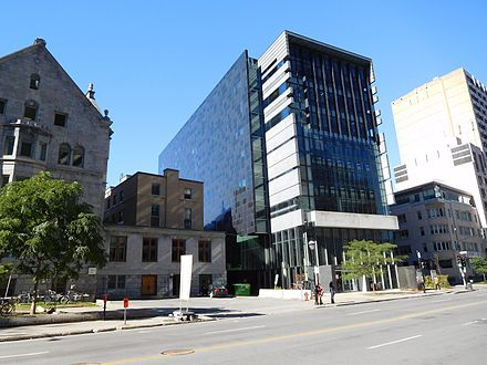 Elizabeth Wirth Music Building, also a library, sits adjacent to the old Strathcona Music Building Elizabeth Wirth Music Building - 01.jpg