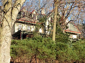 Leetsdale, Pennsylvania - Elmridge, a historic site in the borough