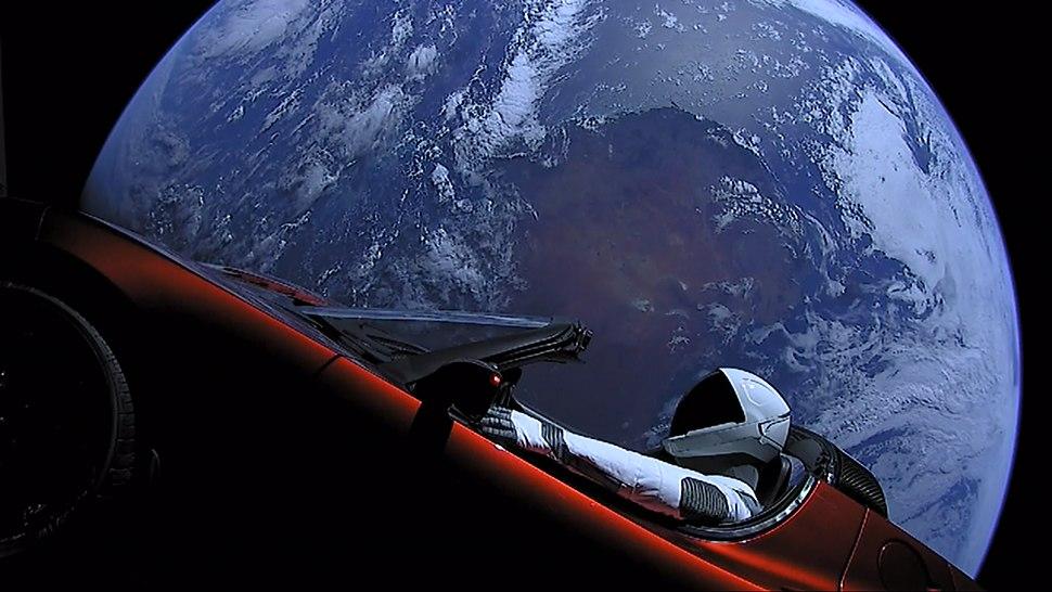 Elon Musk's Tesla Roadster (40143096241)