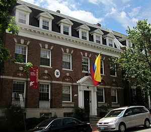 Foreign relations of Colombia - Embassy of Colombia in Washington, D.C.