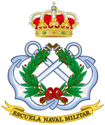 Emblem of the Spanish Naval Military Academy.SVG