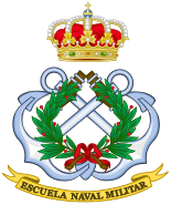 Emblem of the Spanish Naval Military Academy