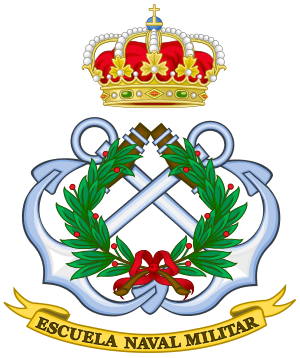 Escuela Naval Militar - Image: Emblem of the Spanish Naval Military Academy