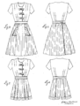 Emily Wilkens patent drawing for a three-piece playsuit, April 11 1944. Design 137632 crop.png