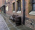 Empty beer-barrel collection day. Hampton Court Palace. - panoramio.jpg