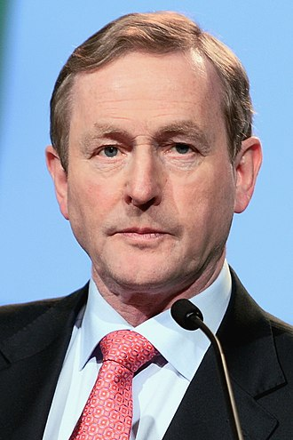2009 Irish local elections - Image: Enda Kenny EPP 2014 (cropped)