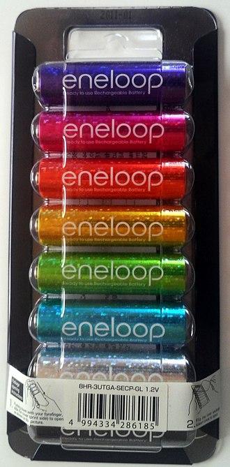 Eneloop - Eneloop 5th anniversary special glitter edition pack
