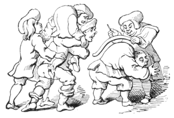 English Caricaturists, 1893 - Anti-Hogarthian Caricature.png