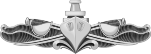USS South Carolina (CGN-37) - Image: Enlisted Surface Warfare Specialist Insignia