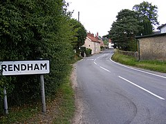 Entering Rendham on B1119 - geograph.org.uk - 1404900.jpg