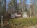 Entrance sign for Minisink Battleground County Park.jpg