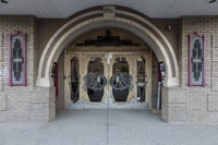 Entryway of the Chief Theater in Steamboat Springs, Colorado LCCN2015633750.tif