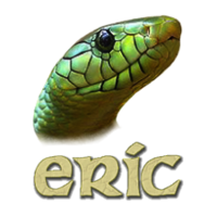 The logo of eric