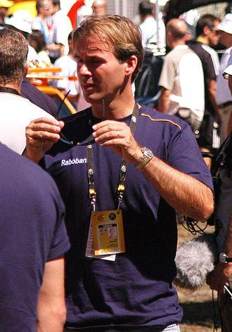Erik Breukink - Breukink at the 2007 Tour de France