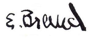 Erland Brand - Image: Erland Brand signature