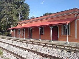 Apan - Image: Estación del ferrocarril de Apan
