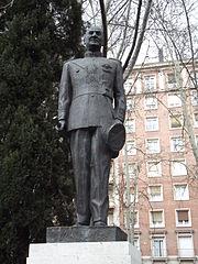 Estatua de Juan Domingo Perón