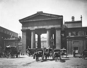 Euston Arch - The Euston Arch in the 1890s