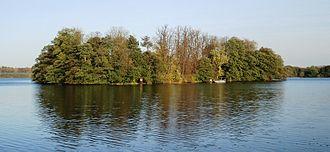 Großer Eutiner See - The Große Eutiner See - Pheasant Island