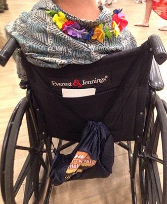 Everest and Jennings - Image: Everest & Jennings wheelchair