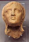 Ex-voto della collezione ricci busatti, testa, III-II sec. ac. 01.jpg