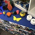 Examples of 3-D printed objects presented at the Mini Maker Faire in Tyler, Texas(US).jpg
