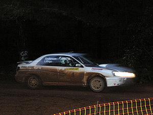 Australian Rally Championship - Australian Rally Championship, West Australian Round, night stage. 2006.