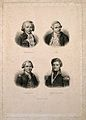 Explorers; James Cook, Bougainville, Dumont d'Urville, and L Wellcome V0006809.jpg