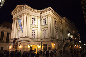 Estates Theatre - Night view