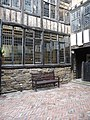 External courtyard behind Bessie Surtees' House - geograph.org.uk - 1738442.jpg