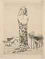 Félix Bracquemond - Le buste de la République par Moulin.jpg