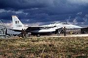 F-15C 53FS 36FW Aviano 1993