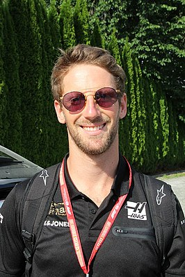 Romain Grosjean in 2019