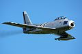 F86A Sabre - Shuttleworth Military Pageant June 2013 (9177514860).jpg