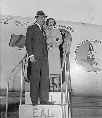 Franklin Delano Roosevelt Jr. - Franklin with his first wife, Ethel du Pont, September 11, 1937