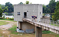 FEMA - 45039 - FEMA Mitigation Team Inspects Raw Water Intake Tower.jpg