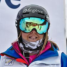 FIS Moguls World Cup 2015 Finals - Megève - 20150315 - Camille Cabrol 4.jpg