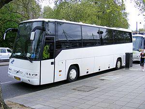 Volvo B12 - Drögmöller-bodied Volvo B12-600 in Hungary.