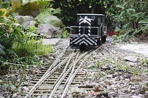 Garden railway - Dual Gauge Garden Railway
