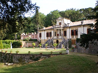 Este, Veneto - Villa Contarini, also known as « Vigna Contarena »