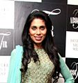 Fagun Thakrar graces the launch of latest collection by Manish & Devinaa Chouhan.jpg