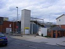 Failsworth Metrolink station construction.jpg