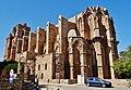 Famagusta - Gazimagusa Lala-Mustafa-Pasha-Moschee (Nikolauskathedrale) Südseite 2.jpg