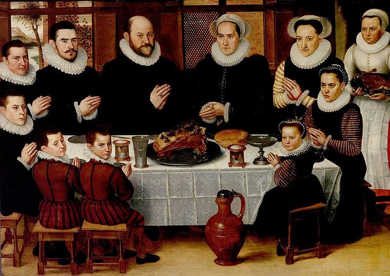 File:Family Saying Grace Anthonius Claeissins c 1585.jpg