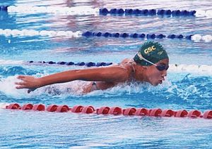 Egypt at the 2012 Summer Olympics - Farida Osman who competed in swimming's 50 metre freestyle, was the youngest member of Egypt's 2012 Olympic delegation.