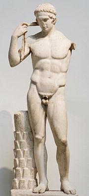 Farnese Diadumenos BM 501