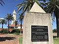 Faro de Punta del Este Placa del Rotary Club en 2018.jpg