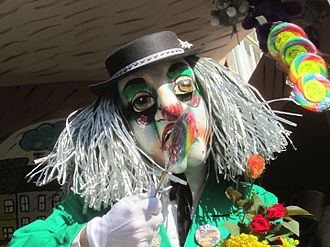 Carnival of Basel - Fasnachtler from Basel Fasnacht 2012