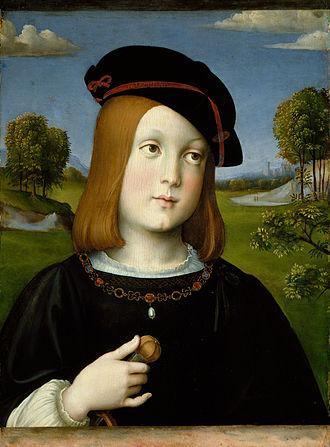 Federico II Gonzaga, Duke of Mantua - Federico II soon after becoming a hostage, by Francesco Francia